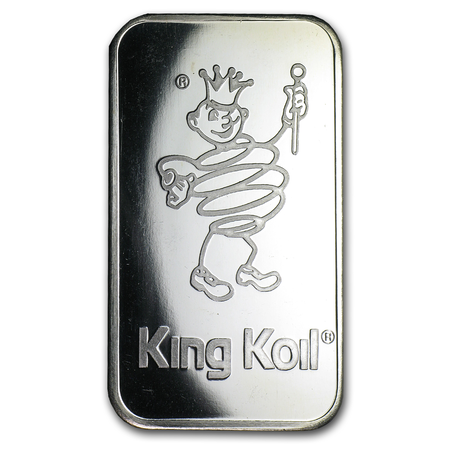 1 oz Silver Bar - Johnson Matthey (King Koil Mattress)